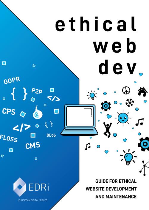 Titelseite des Leitfaden für ethische Website-Entwicklung